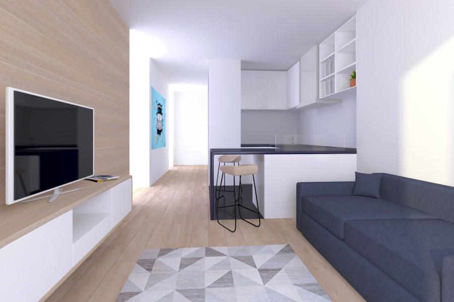 projektowanie wnętrza mieszkania w Krakowie